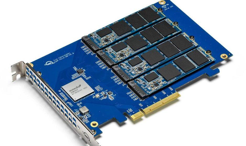 OWC annuncia Accelsior 4M2: SSD M.2 NVMe PCIe