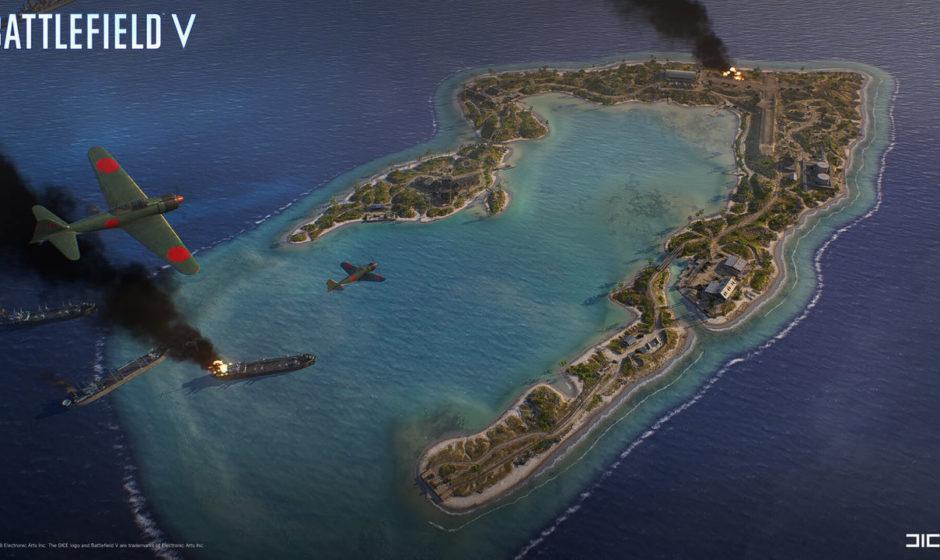 Battlefield V: in arrivo la mappa Wake Island