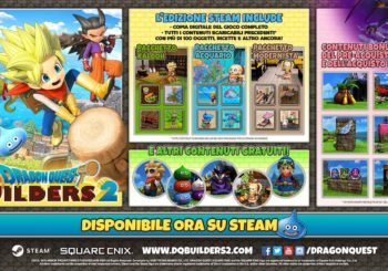 Dragon Quest Builders 2: disponibile su Steam