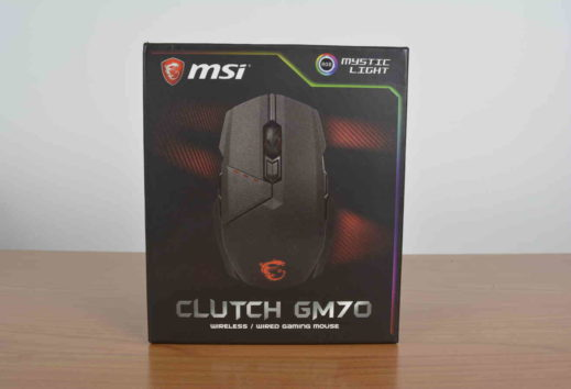 Mouse MSI Clutch GM 70 - Recensione