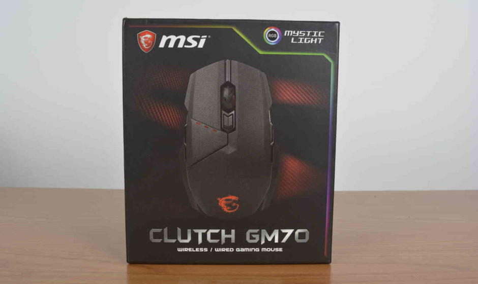 Mouse MSI Clutch GM 70 - Recensione