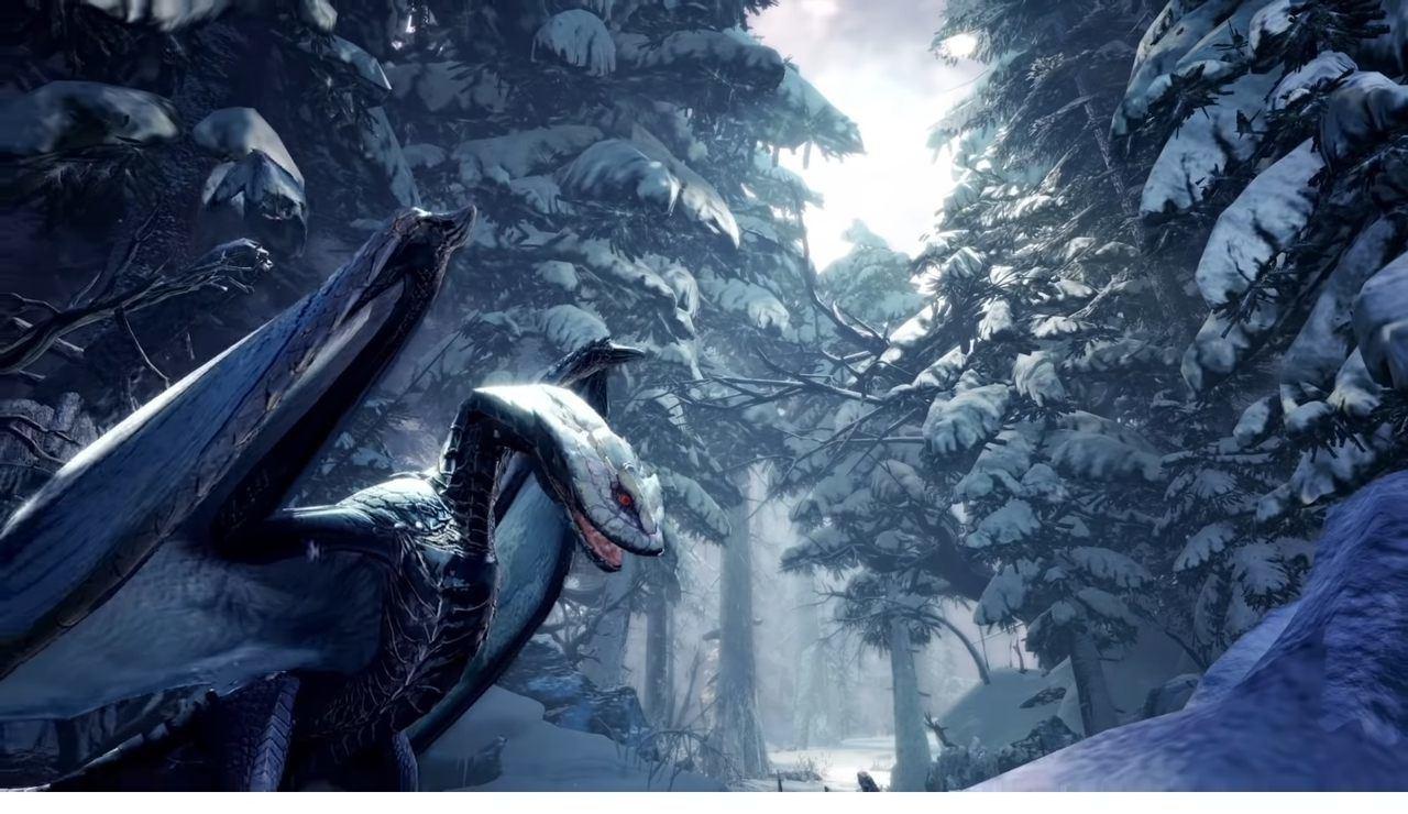 Monster Hunter World Iceborne nuova regione