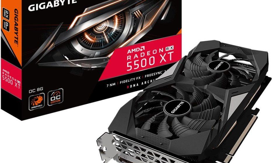 GIGABYTE presenta Radeon RX 5500 XT