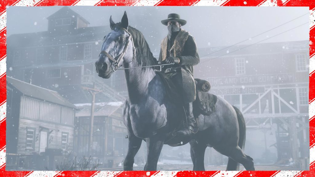 Red Dead Online Neve e Regali natalizi