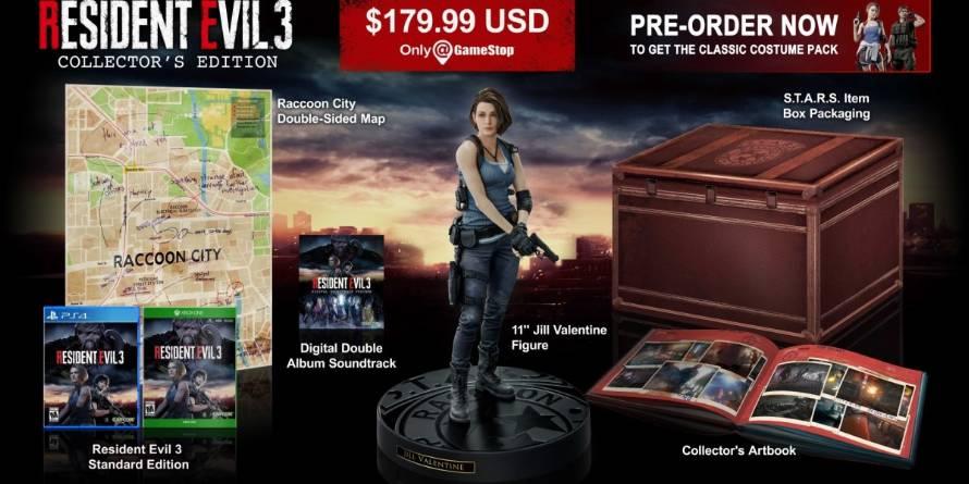Resident Evil 3 Remake Collector