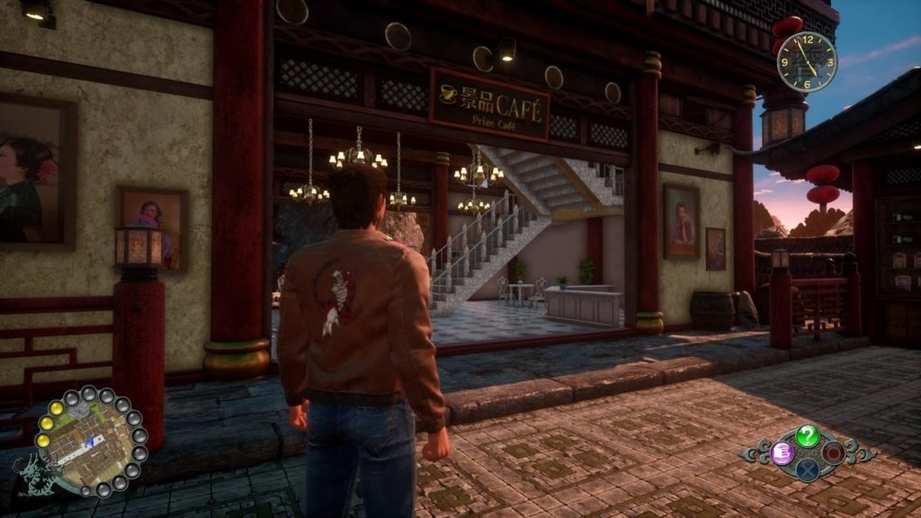 Shenmue III soldi Prize Cafe