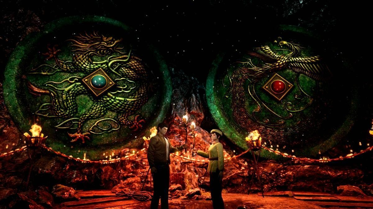 Shenmue III mirror cave