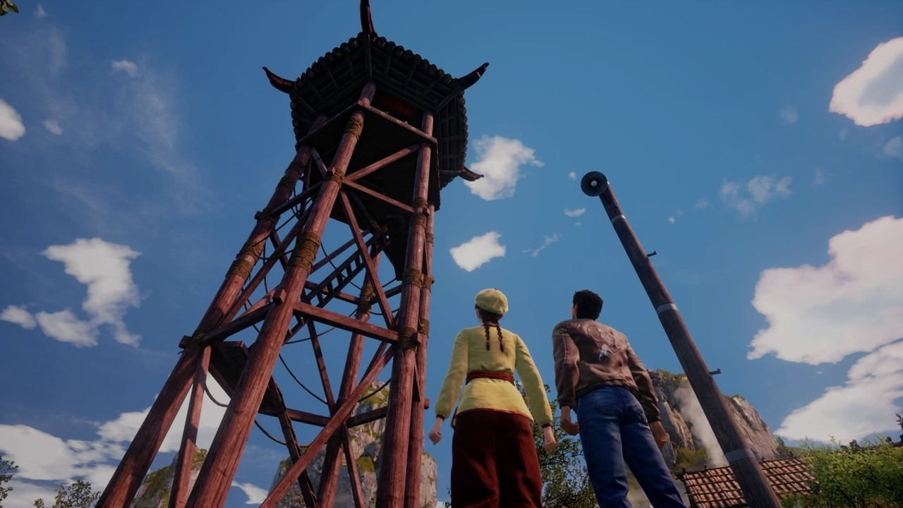 Shenmue III torre campanile