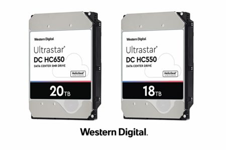 Western Digital presenta hard disk da 18 e 20 Tb