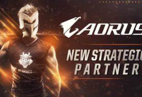 GIGABYTE AORUS amplia la partnership con G2 Esport