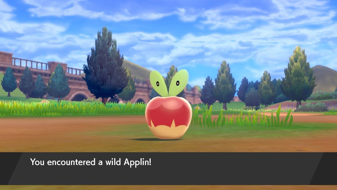 pokemon spada scudo applin dreepy