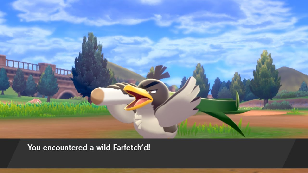 pokemon spada scudo farfetch'd