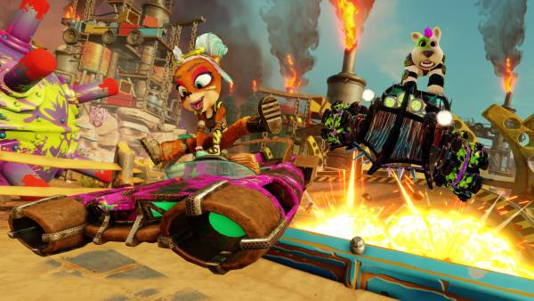 Crash Team Racing Nitro-Fueled: Arriva il Rustland Grand Prix