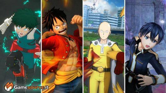 Bandai Namco – Provata la line up anime del 2020