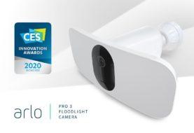 CES 2020: Arlo presenta Arlo Pro 3 Floodlight