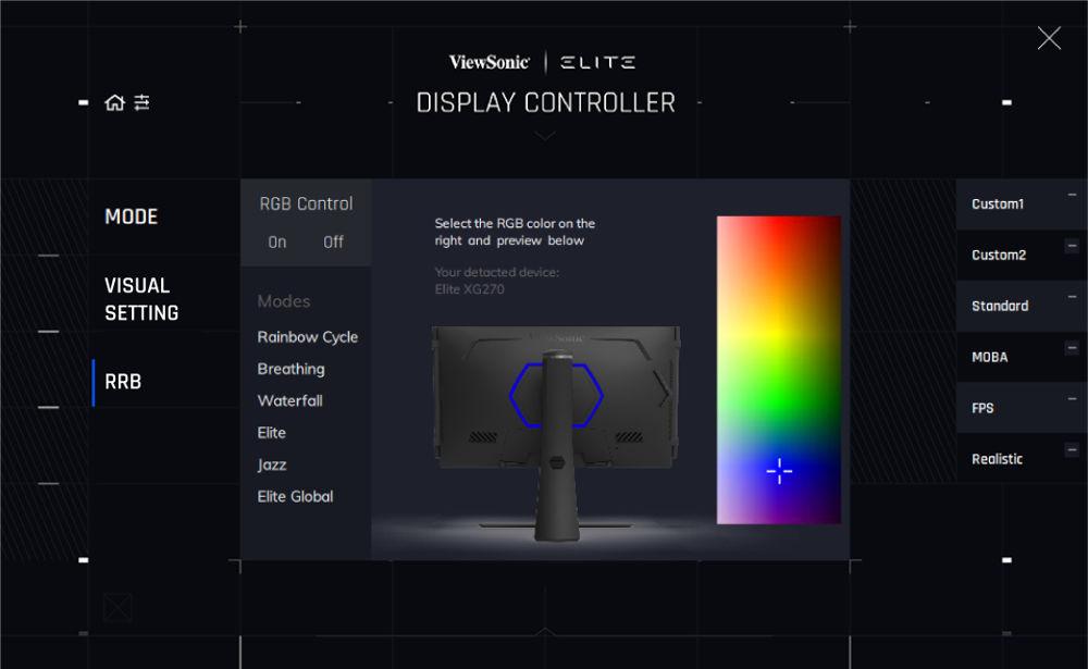RGB Alliance display controller