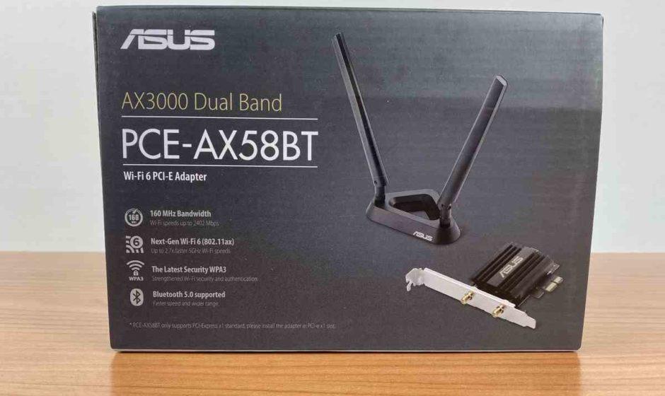 ASUS AX3000 PCE-AX58BT - Recensione