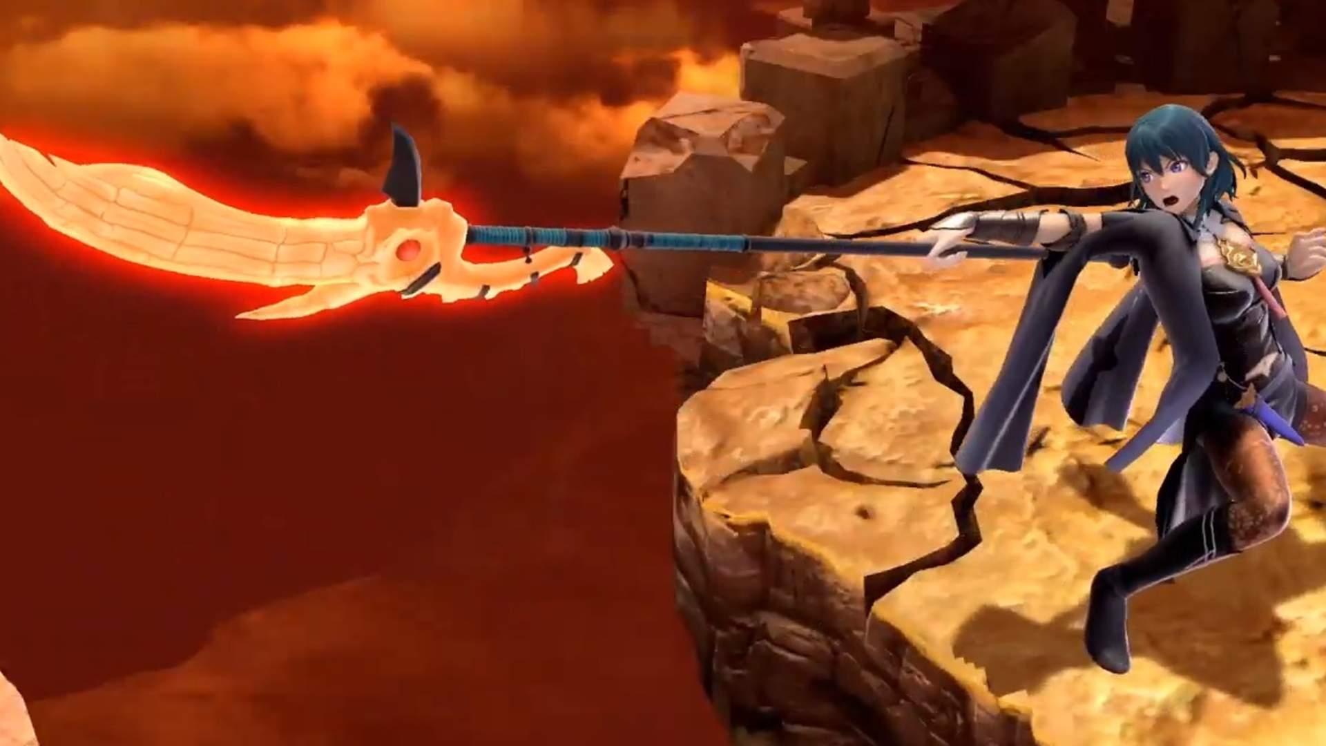 Super Smash Bros Ultimate Byleth fem