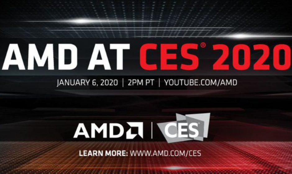 CES 2020: AMD annuncia processori laptop