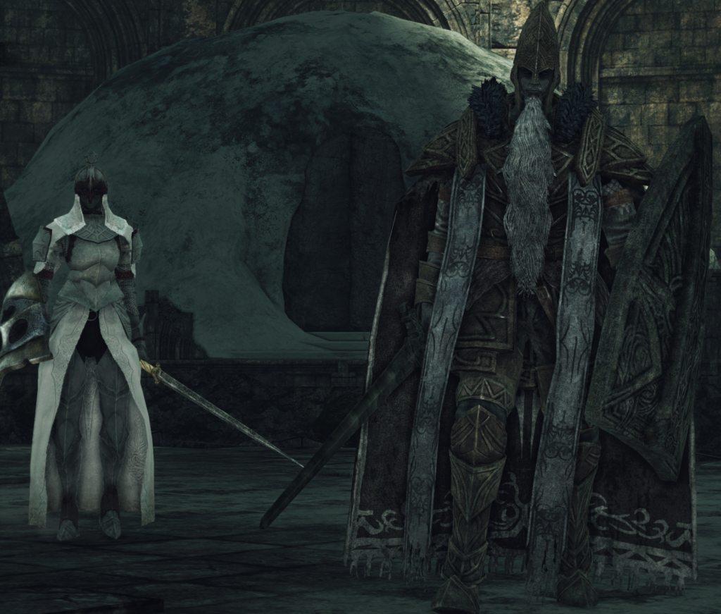 dark souls 2 guardiano custode trono boss