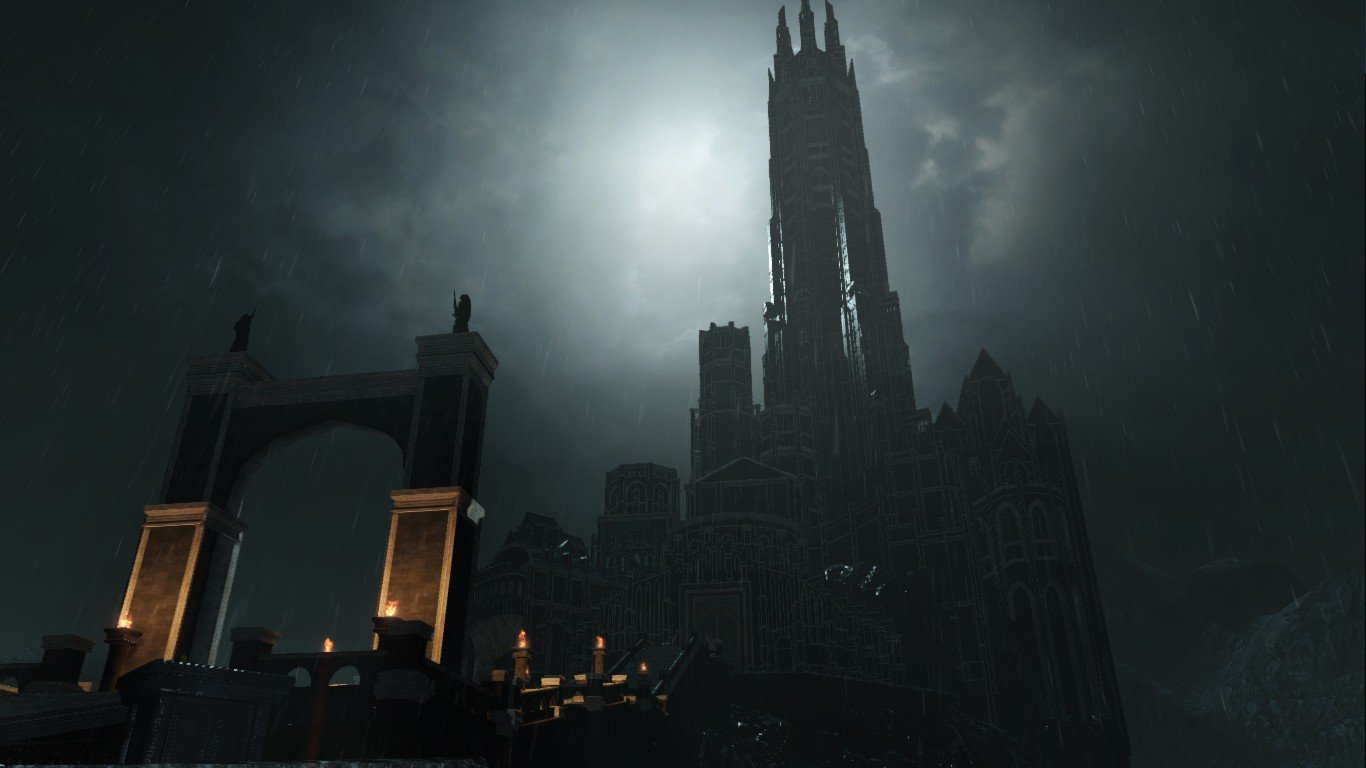 dark souls 2 castello drangleic boss