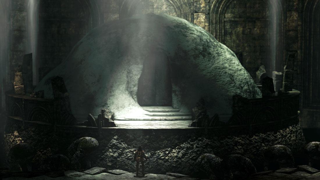 dark souls 2 trono desiderio boss
