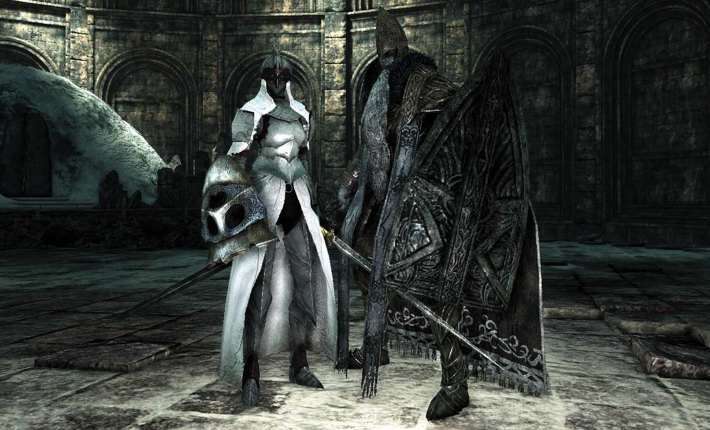 dark souls 2 boss custode guardiano trono