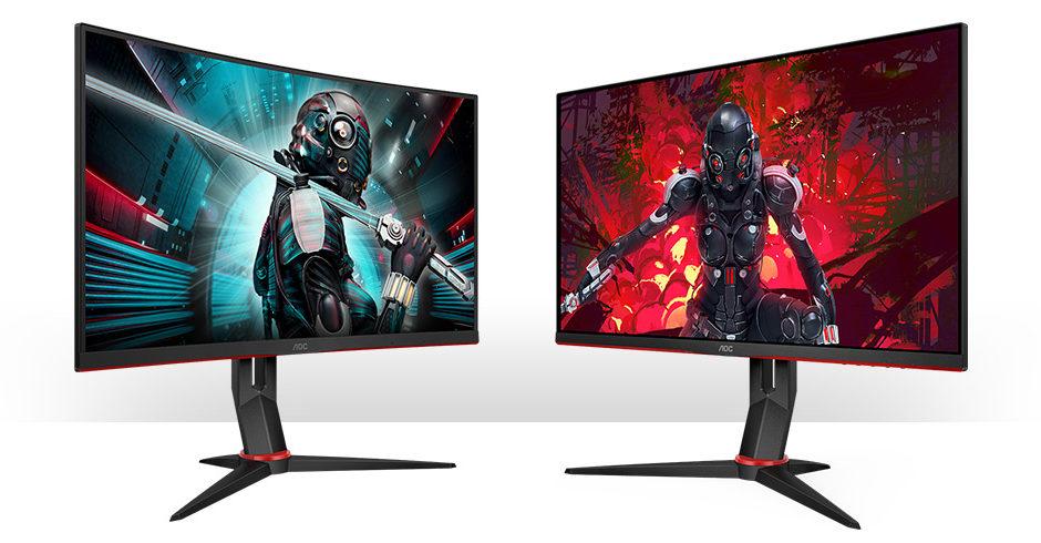 AOC presenta due nuovi display QHD della serie G2