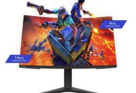 Lenovo presenta i monitor curvi G32qc e G27c