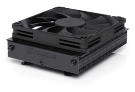 NOCTUA presenta NH-L9a-AM4 chromax.black