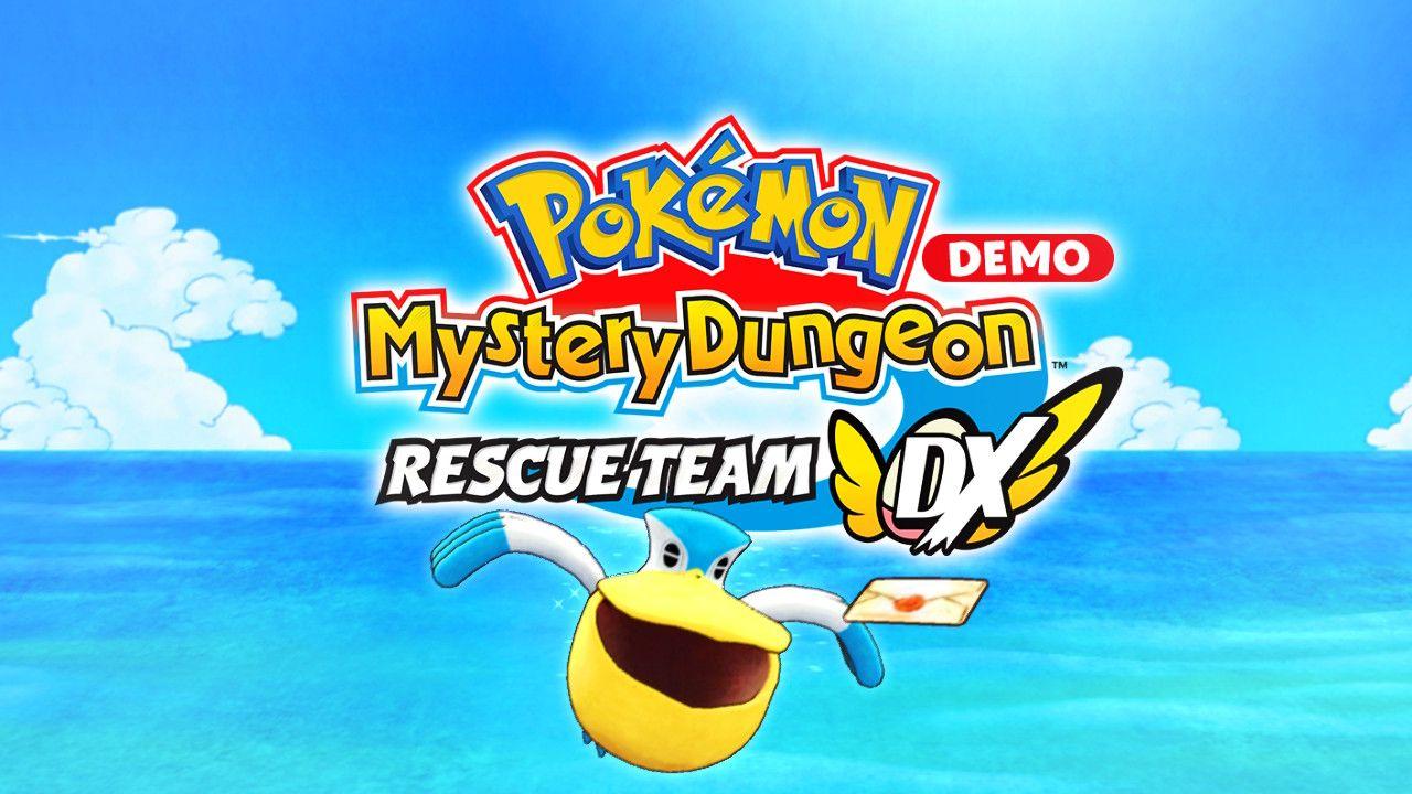 pokemon mystery dungeon squadra soccorso DX switch