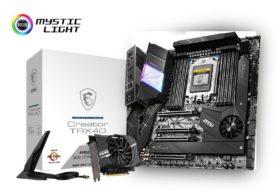 CES 2020: MSI presenta le motherboard X570 e TRX40