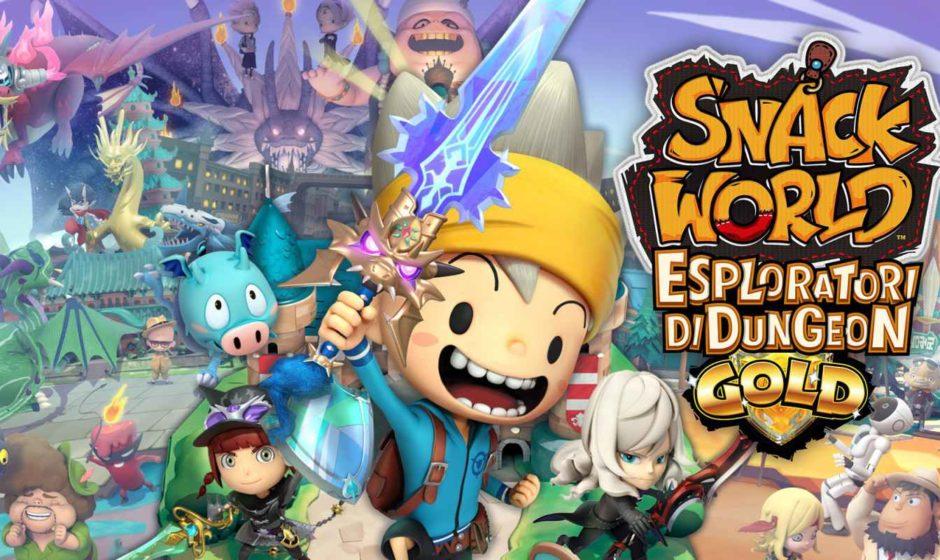 Snack World: Esploratori di Dungeon - Gold - Recensione
