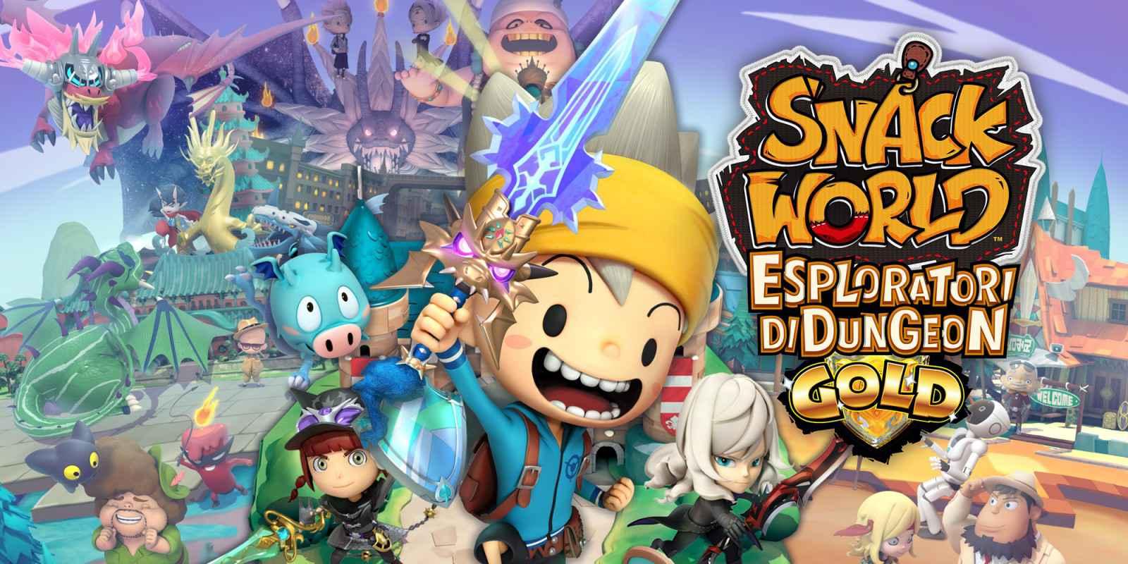 Snack World: Esploratori di Dungeon – Gold – Recensione