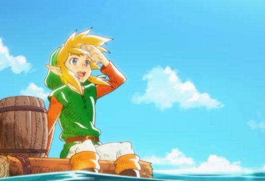 The Legend of Zelda: artwork di un gioco eliminato