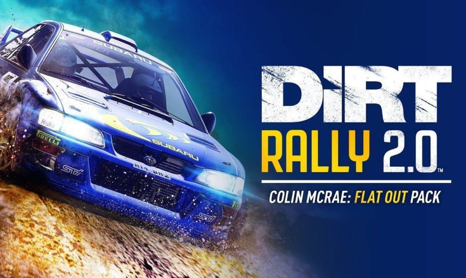 DiRT Rally 2.0: arriva Colin McRae FLAT OUT pack