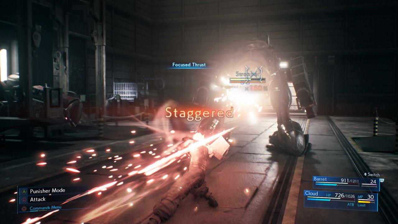 Final Fantasy VII Remake Cloud Sweeper
