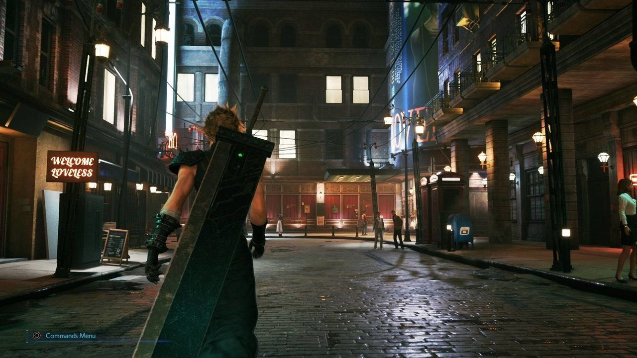 Final Fantasy VII Remake Midgar street