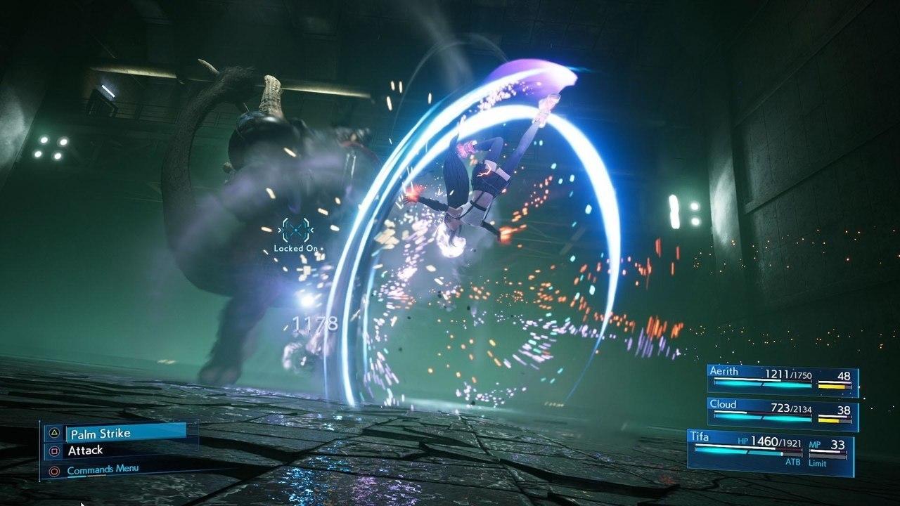 Final Fantasy VII Remake Tifa Abzu