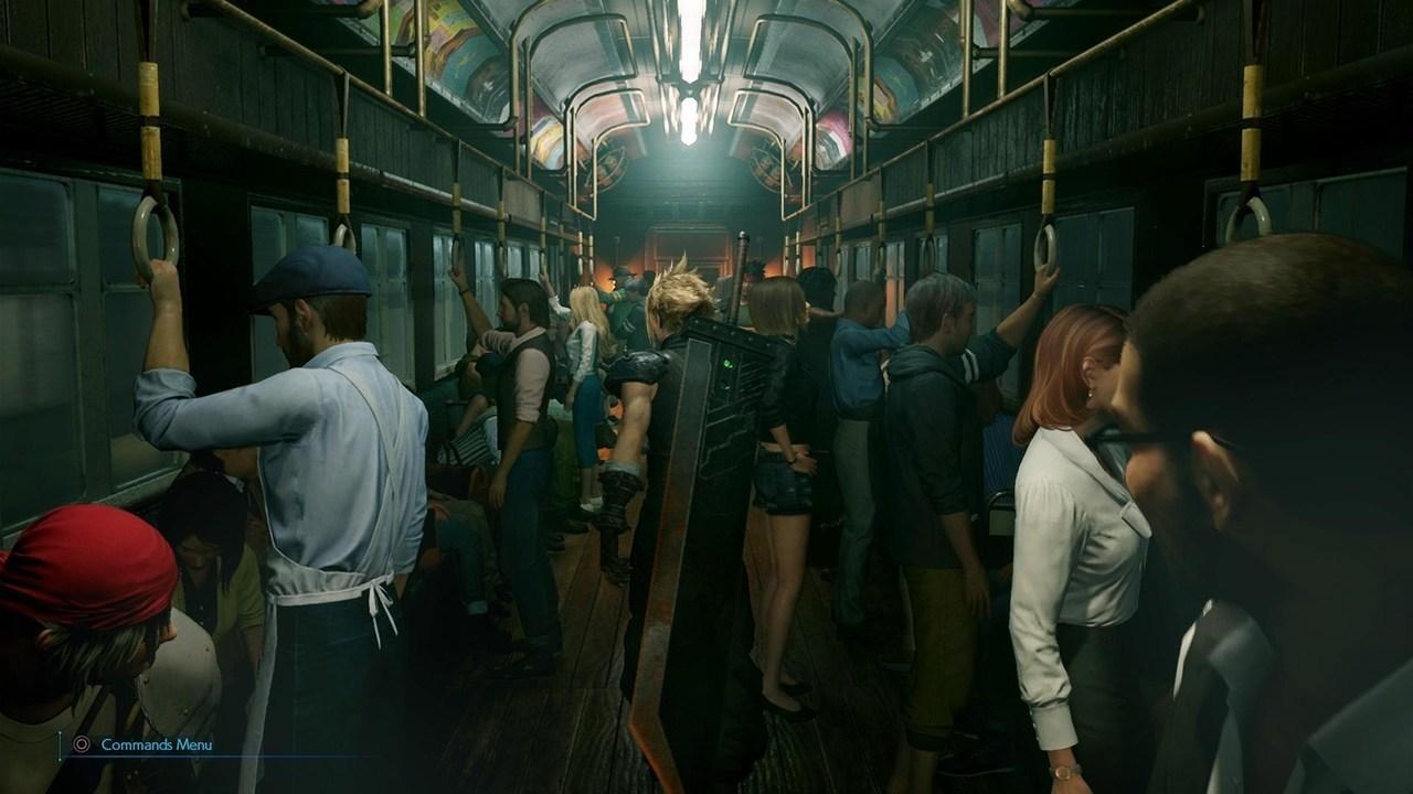 Final Fantasy VII Remake train