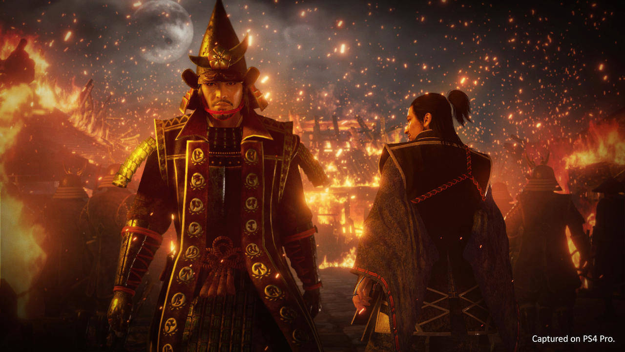 Nioh 2 Nobunaga Hideyoshi