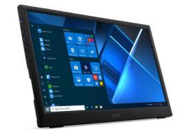 Acer presenta il monitor portatile PM161Q