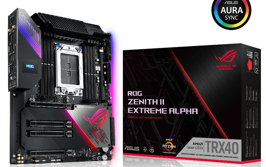 ASUS annuncia le MB TRX40 per CPU Ryzen 3990X