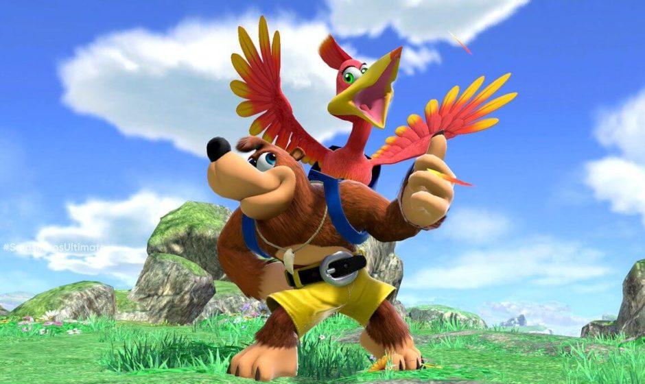 Banjo-Kazooie in Smash Bros. grazie a Minecraft
