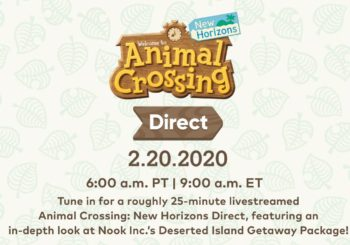 Animal Crossing, annunciato Nintendo Direct a tema
