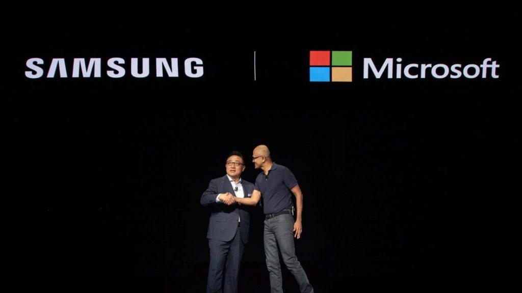 Samsung Microsoft