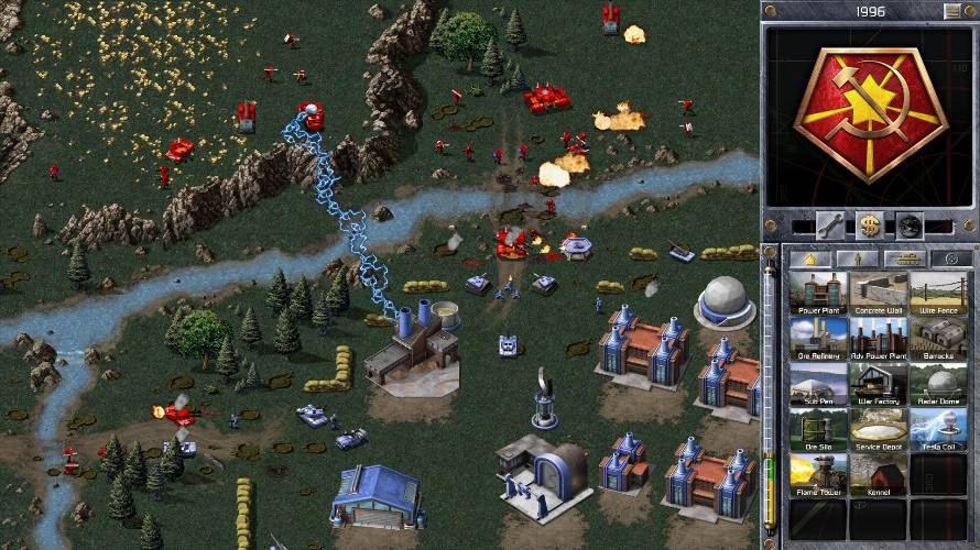 command & conquer electronic arts