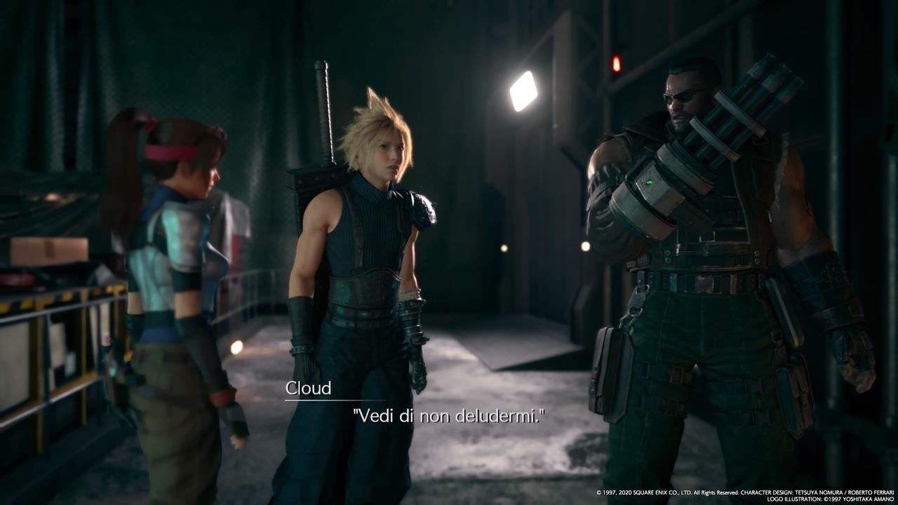 Final Fantasy VII Remake Cloud Barret