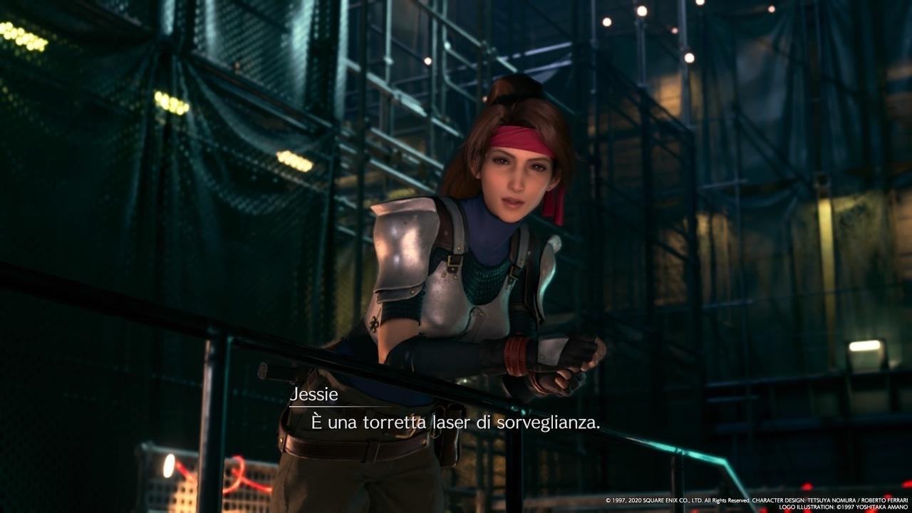 Final Fantasy VII Remake Jessie