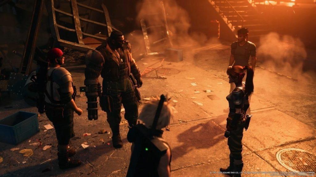 Final Fantasy VII Remake dev diary